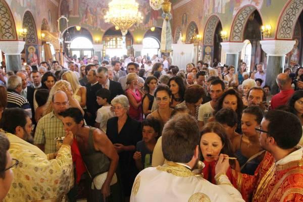Με κατάνυξη εορτάστηκε η Παναγία στη Μεσσηνία