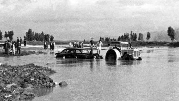 Πλημμύρα στον Πάμισο πριν από 60 χρόνια