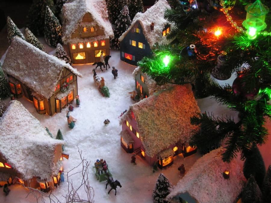 Αποτέλεσμα εικόνας για χριστουγεννιάτικο χωριό εικόνες