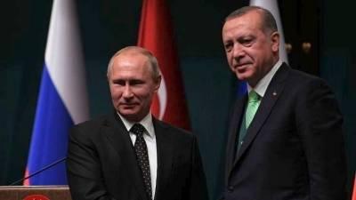 Πούτιν και Ερντογάν θα συζητήσουν τις επιχειρήσεις στη Συρία