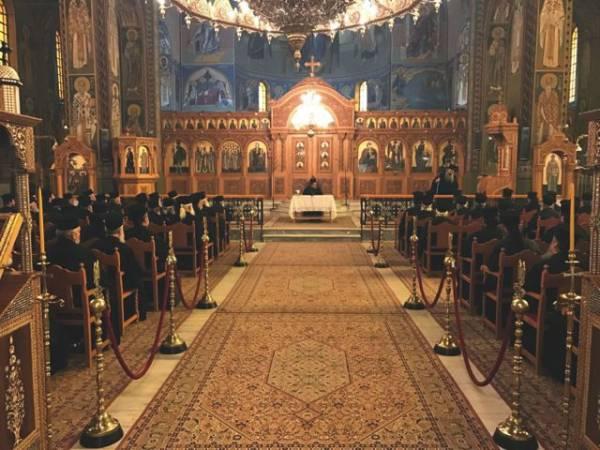 Ιερατική σύναξη των κληρικών της Μητρόπολης Μεσσηνίας