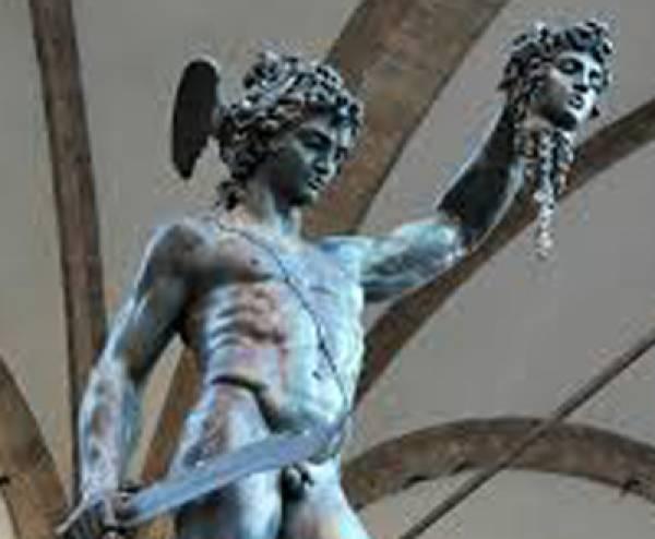 Ο Περσέας στηνΑρχαία Μεσσήνη