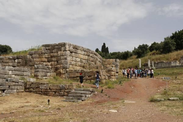 Γέμισε μαθητές η Αρχαία Μεσσήνη