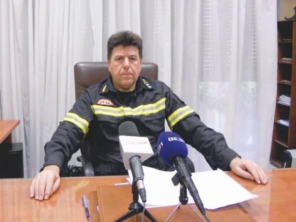 Υπάρχηγος της πυροσβεστικής ο Καλαματιανός Χαράλαμπος Αφάλης