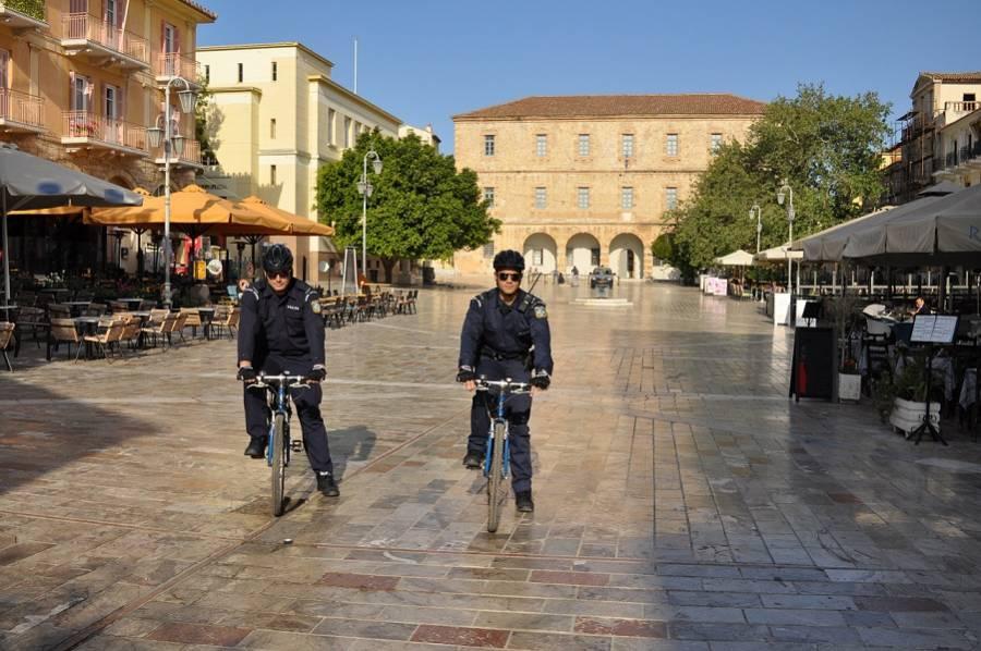 Αποτέλεσμα εικόνας για αστυνομευση με ποδηλατα