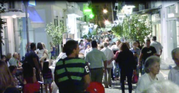 Πλήθος κόσμου στη γιορτή εμπορίου στη Μεσσήνη (βίντεο)