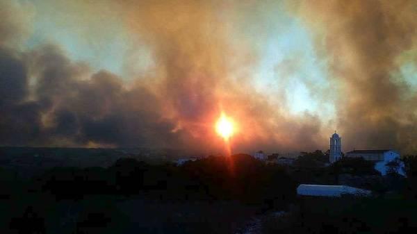 Για 4η ημέρα μαίνεται η πυρκαγιά στα Κύθηρα - Νοτιοδυτικά το μεγάλο πύρινο μέτωπο