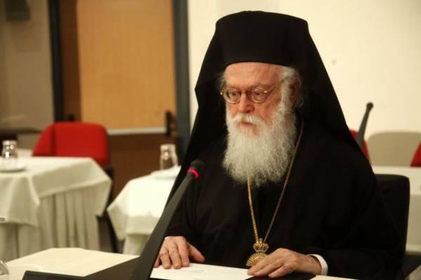 Ο Αρχιεπίσκοπος Αλβανίας Αναστάσιος το Δεκέμβριο στην Καλαμάτα