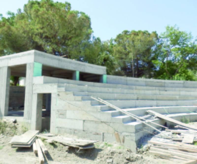 Προχωρά η κατασκευή του Ανοιχτού Θεάτρου Καλαμάτας «Αγορά»