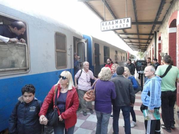 Ολοι θέλουν το τρένο για πάντα στη Μεσσηνία – Σε εξέλιξη η συλλογή υπογραφών (βίντεο)