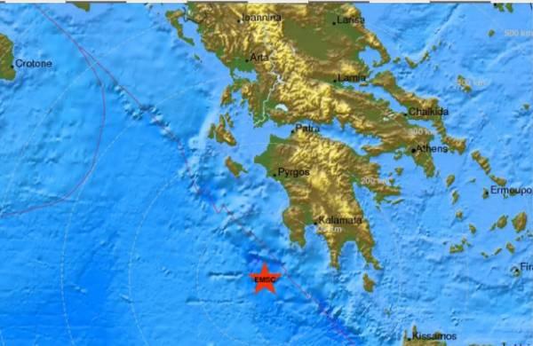 Σεισμός 3,9 Ρίχτερ ανοιχτά της Μεθώνης
