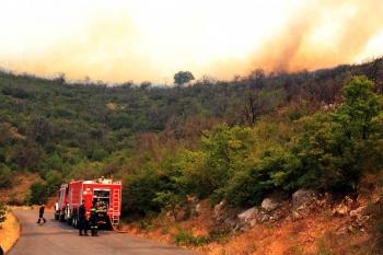 Σε ύφεση η πυρκαγιά στην Αρκαδία - Κάηκαν 27.000 στρέμματα