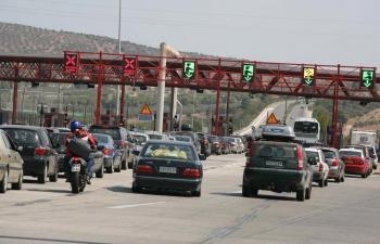 """Ελαφρά μειωμένη η κίνηση στα διόδια: 15.000 αυτοκίνητα """"πέρασαν"""" τις γιορτές στη Μεσσηνία"""