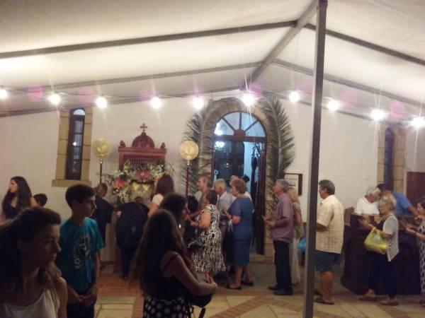 Γιόρτασαν στο γραφικό εκκλησάκι της Παναγίας της Αγριλιώτισσας