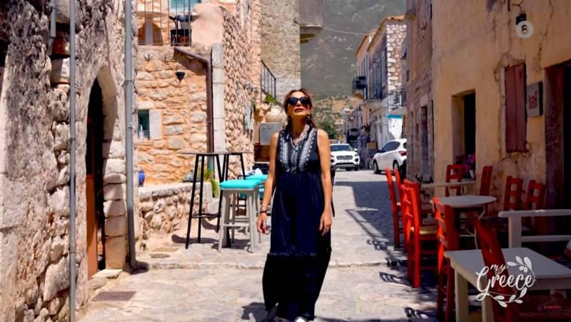 """My Greece"": Despina Vandi's show in Messinian Mani (Video)"