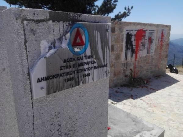 Η ΛΑΕ Μεσσηνίας καταδικάζει τη βεβήλωση του μνημείου του ΔΣΕ στον Ταΰγετο