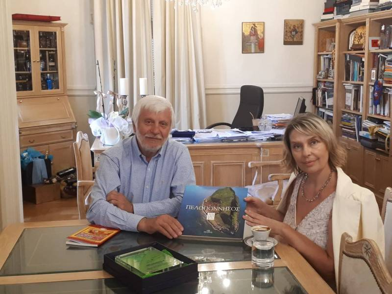 Πελοπόννησος: Με τον Τατούλη η Παπακώστα στις περιφερειακές εκλογές