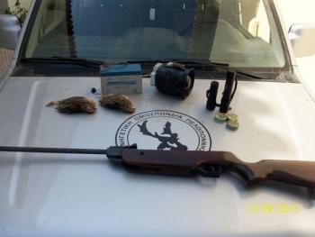 Σύλληψη 2 κυνηγών για ορτύκια στο Βλαχόπουλο με ηχομιμητική συσκευή
