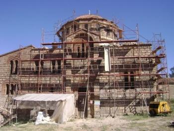 Σε πλήρη εξέλιξη τα έργα στη Μεταμόρφωση Χριστιάνων