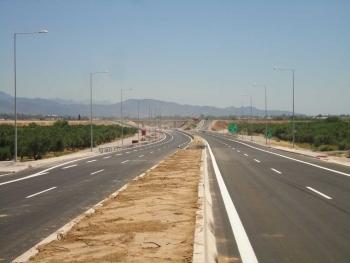 16 ή 17 Ιουλίου η παράδοση του αυτοκινητόδρομου από Αλλαγή μέχρι Θουρία
