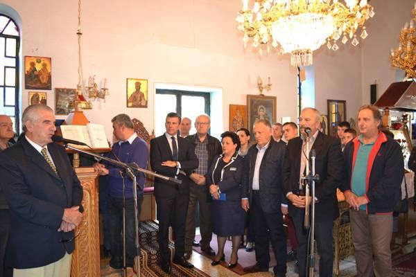 Κυπαρισσία: Μνημόσυνο για τον ευεργέτη Γεώργιο Αλεξόπουλο