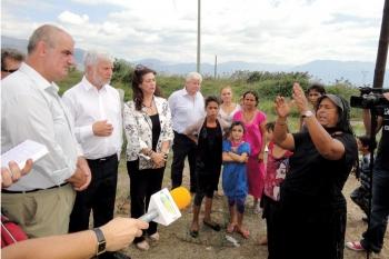 Επιδιόρθωση των ζημιών στην Μπιρμπίτα υποσχέθηκε ο Τατούλης