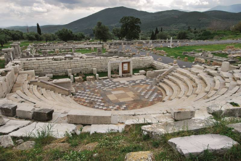 Η Αρχαία Μεσσήνη μέσα από το βλέμμα του Πέτρου Θέμελη