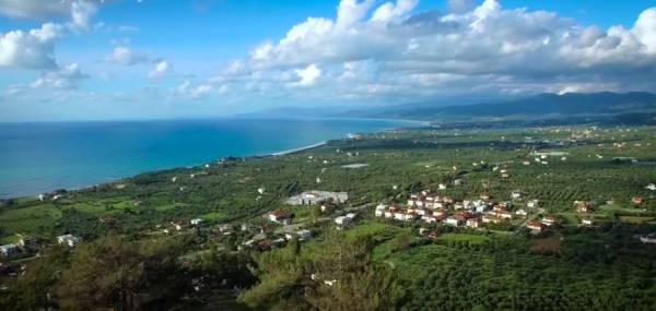 Μαγευτικές εικόνες από την Τριφυλία, τραβηγμένες από drone (video)