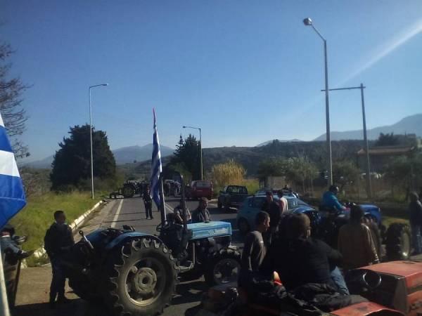 Αντιδρούν οι αγρότες για την παραπομπή σε δίκη για το μπλόκο του Καλού Νερού