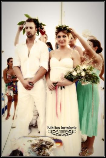 Αρχαιοελληνικός γάμος στη Σάνταβα (φωτογραφίες)